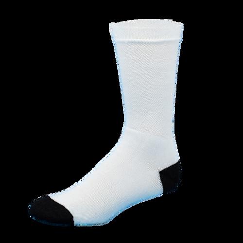 Sublimity® Dye Sublimation Blank Athletic Crew Socks (12 Pair)