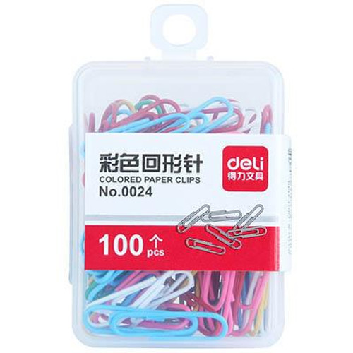 Vynal coated clip