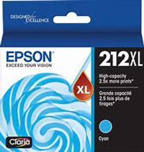 Epson 212 HY Cyan Ink Cartridge