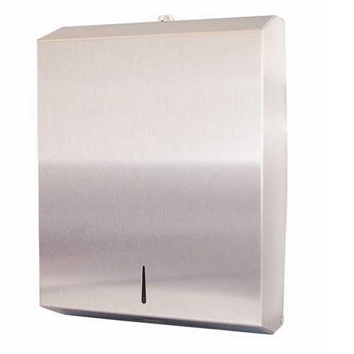 ABC Dispenser Stainless Steel to suit Slimline interleaved hand towel.