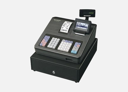 Sharp XEA207B Cash Register Available in Black Or White