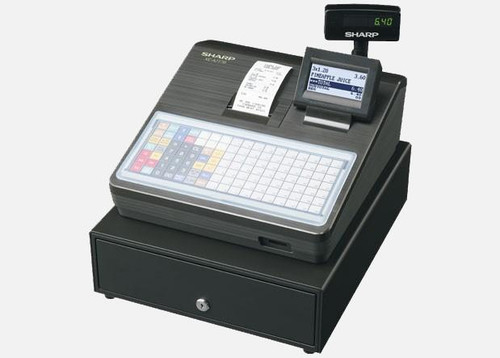 Sharp XEA217B Cash Register Available in Black Or White