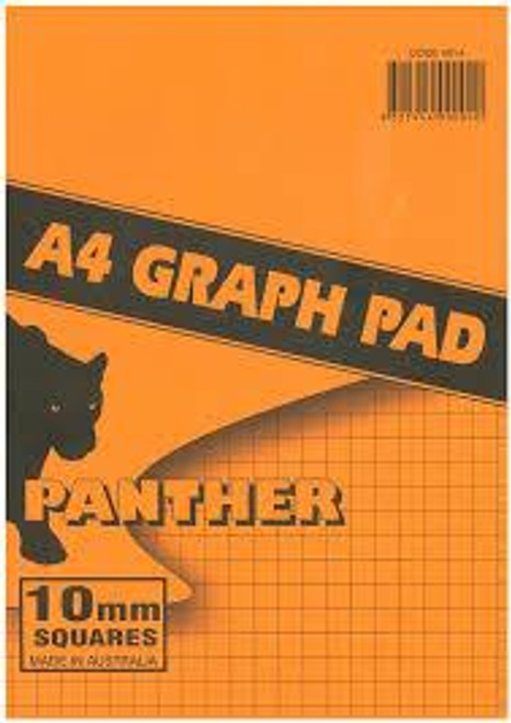 Panther Graph Pad A4 25 Leaf See variants for grid size & discounts