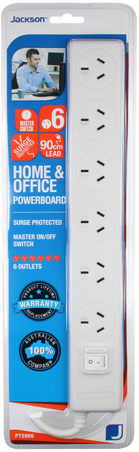 6 Outlet Power Board
