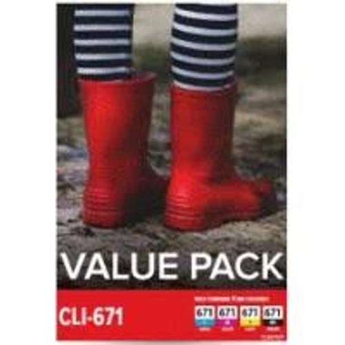 Canon CLI671 Value Pack