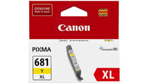Canon CLI681XL Yellow Ink Cart