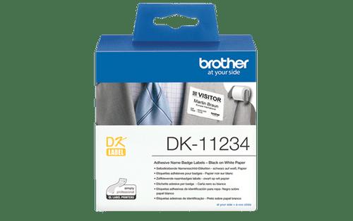 DK11234 Name Badge Label