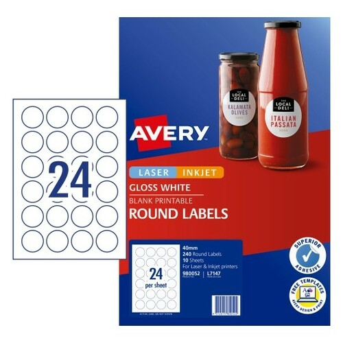 Avery Label