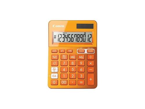 Canon LS123MOR Calculator - Mettalic Orange