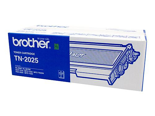 Brother TN2025 Toner Cartridge - 2,500 pages