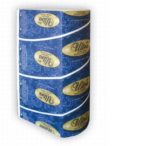 ABC Paper Towel Superslim Style 1Ply 24X24Cm, 2400 Sheets