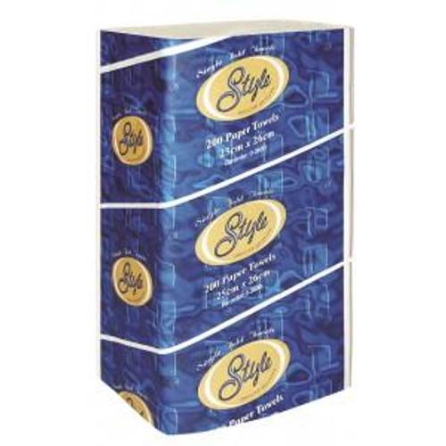 ABC Paper Towel Abc Singlefold 26X25Cm, 3600 Sheets