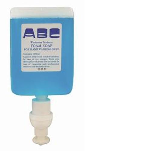 Soap Foam Blue 1L x 6 Cartridges (ABC138/6)