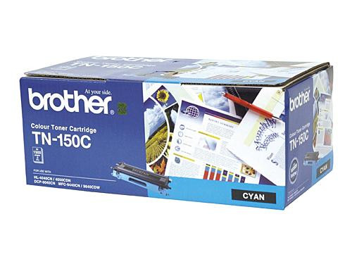 Brother TN150 Cyan Toner Cartridge - 1500 pages