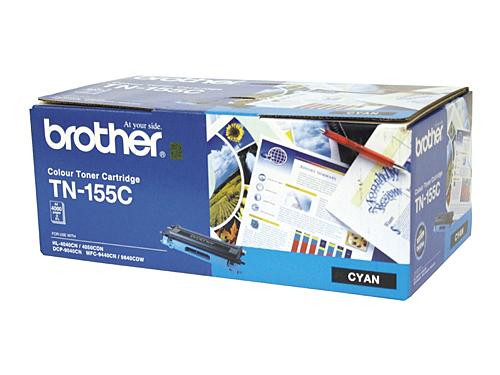 Brother TN155 C Cyan Toner Cartridge - 4000 pages