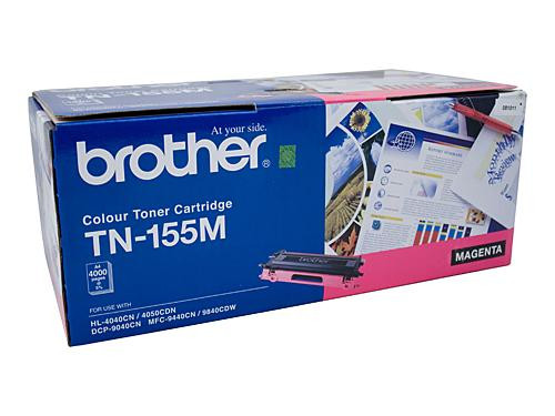 Brother TN155 M Magenta Toner Cartridge - 4000 pages