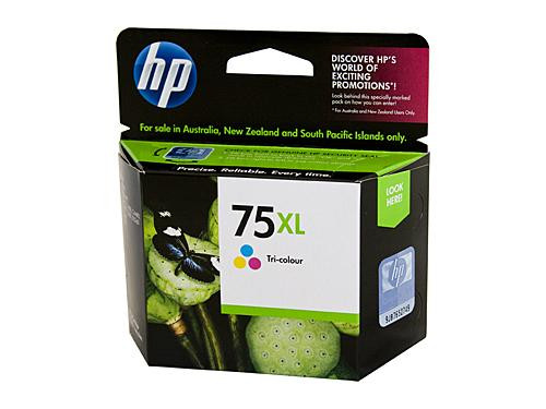 HP 75 Colour Ink Cartridge 170 pages