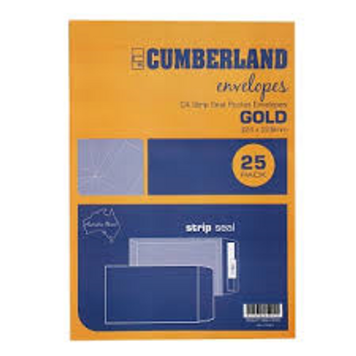 C4 Gold Envelope