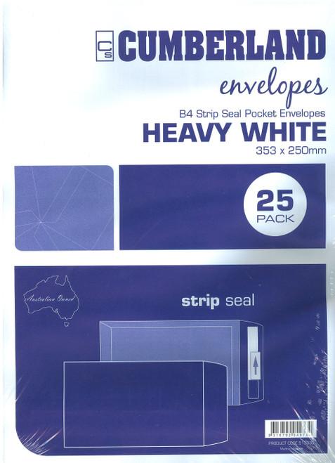 B4 White Envelope