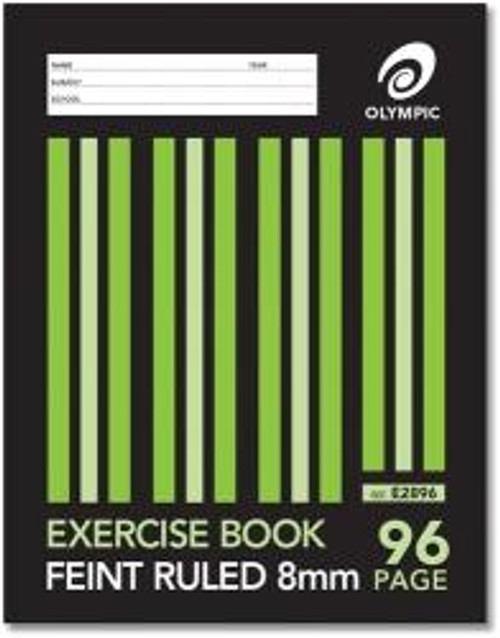 96 Page Exercise Book