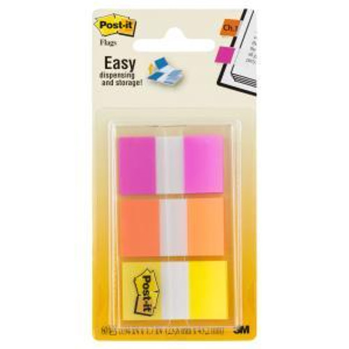 Flags Post-It 23.8X43.2Mm 680-Olp 3 Colours