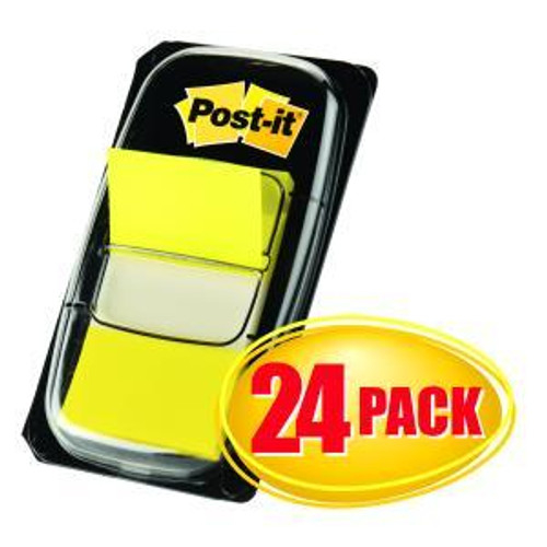 Flags Post-It 680-5-24Cp Cabinet Pack Yellow Bx24