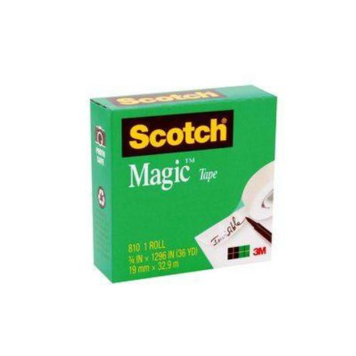 Tape Magic Scotch 810 18Mmx33M Boxed Pack Of 12