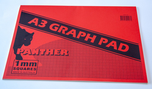 Panther Graph Pad A3 25 Leaf See Variants For Grid Size & Discounts