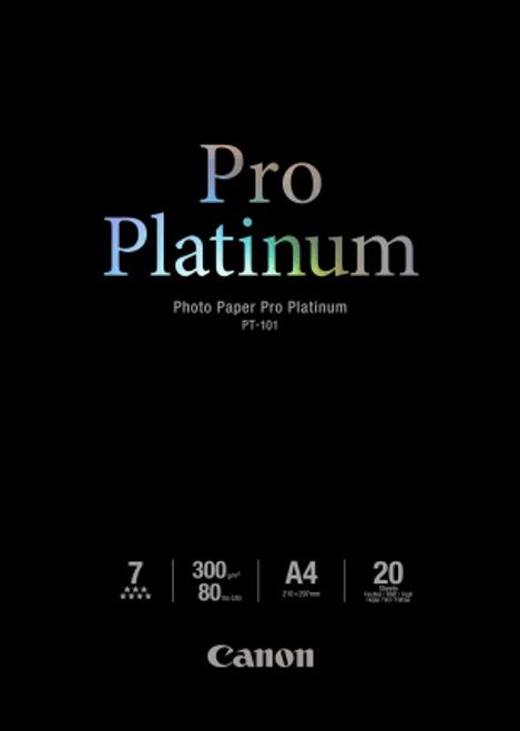 Canon Photo Paper Pro Platinum  A4  20 Sheets - 300gsm
