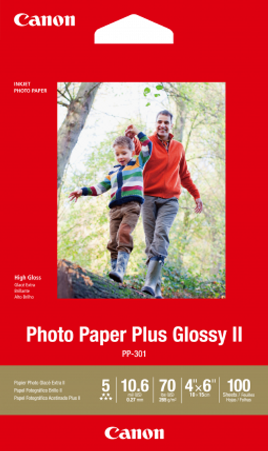 Canon 4X6 Glossy Photo Paper - 100 Sheets - 265Gsm