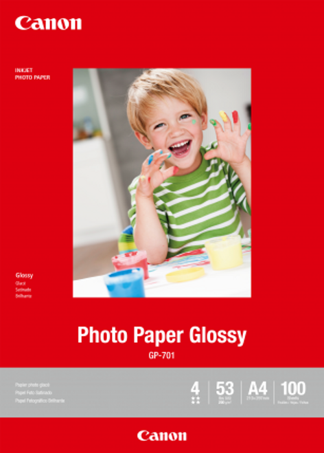 Canon A4 Glossy Photo Paper - 100 Sheets