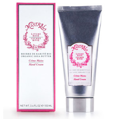 Mistral Lychee Rose Shea Butter Hand Cream