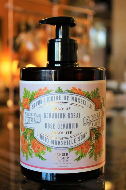 Rose Geranium Liquid Marseille Soap