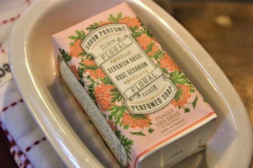 Rose Geranium Perfumed Soap
