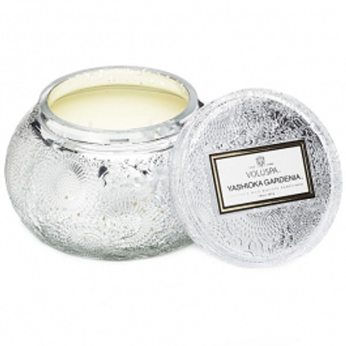 Chawan Bowl 2 Wick Glass Candle -  Yashioka Gardenia