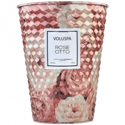 2 Wick Tin Table Candle - Rose Otto