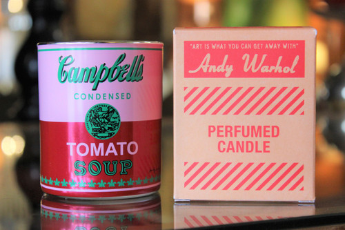 Campbell's Tomato Soup Candle - Red/Pink