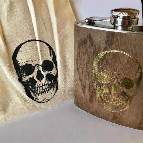Skull Flask 6oz