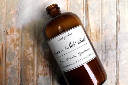 J Diakas Apothecary Epsom Salt Bath