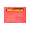 invoice enclosed red