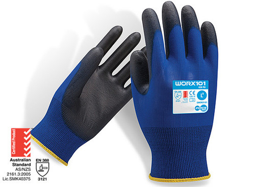 Force360 Eco PU Safety Glove Large