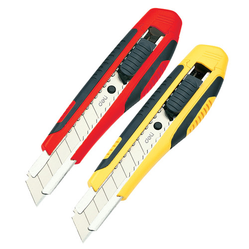 Utility Knife Heavy Duty DELI