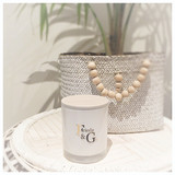 XL Luxury Candle Rose gold highlights (Select your scent)