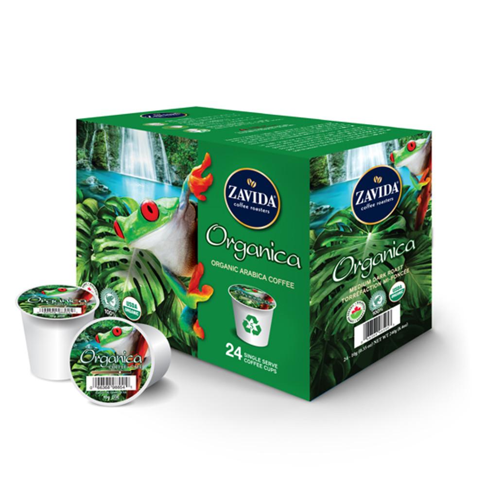 Organica Single Serve Coffee Cups - 24ct