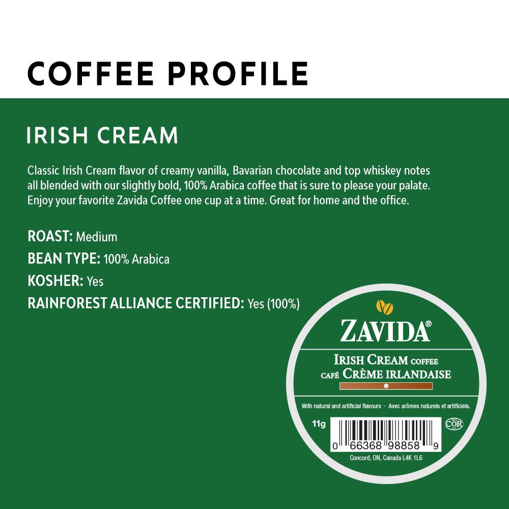 Irish Cream Single Serve Coffee Cups - 24ct