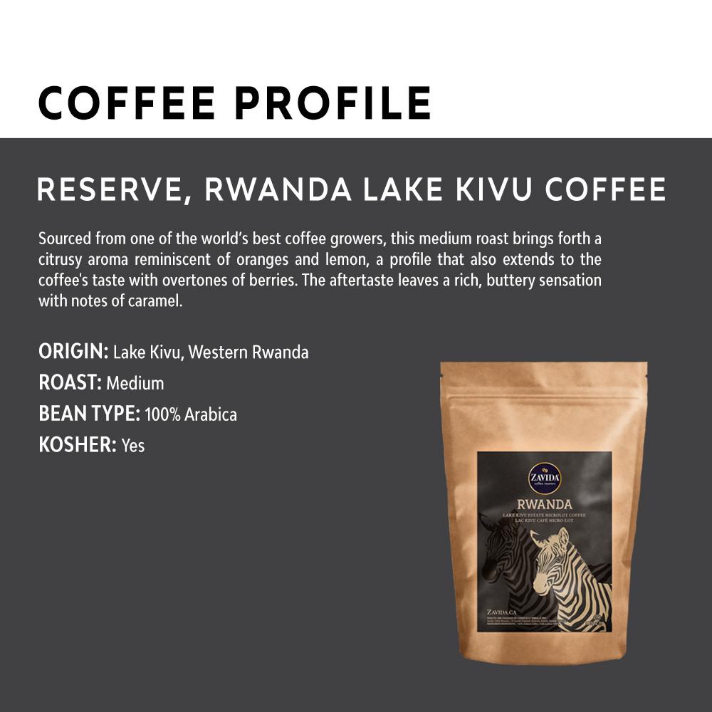 Wholesale Rwanda Lake Kivu Reserve Coffee