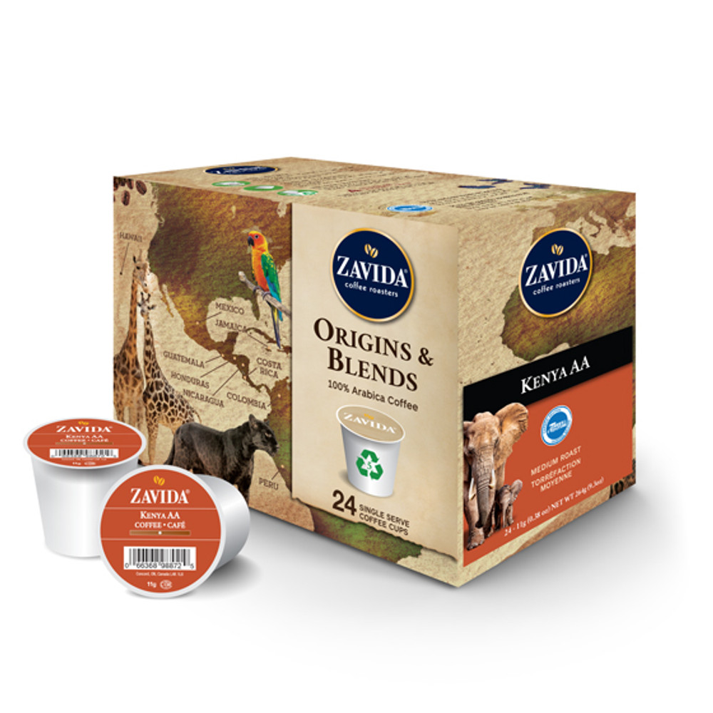 Kenya AA Single Serve Coffee Cups - 24ct
