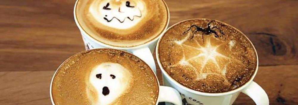 6 Halloween Inspired Latte Art Creations