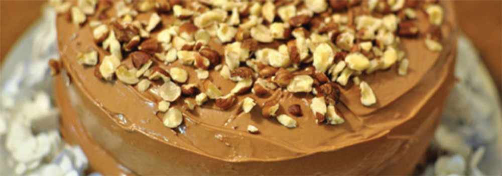 ​Hazelnut Vanilla Coffee Torte Recipe