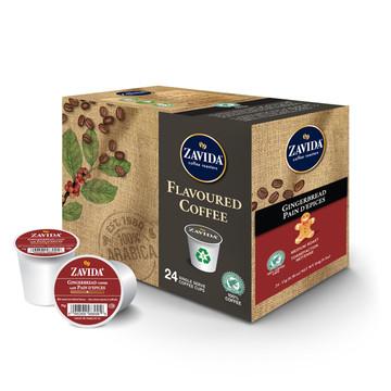 Gingerbread Single Serve Coffee Cups - 24ct